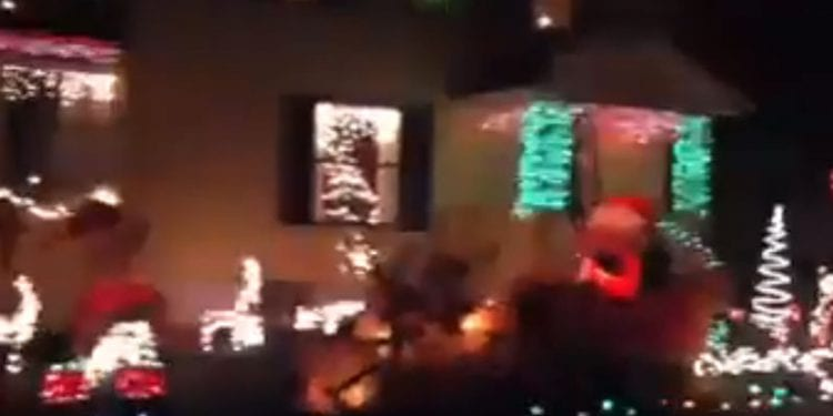Christmas Lights in Bolivar, NY
