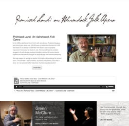 website screenshot - adkfolkopera.org