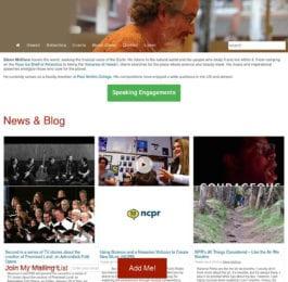 website screenshot - artforbrains.com
