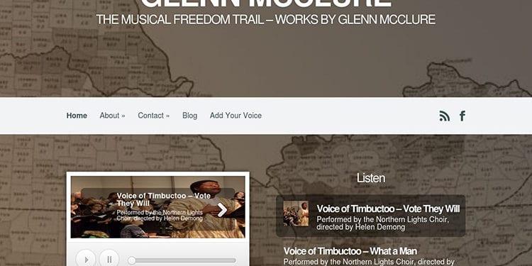 website screenshot - emancipationagain.com