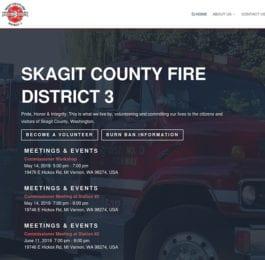 website screenshot - skagitfire3.org